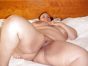 My Ebony SSBBW BBW musterbation collection mix cum with me