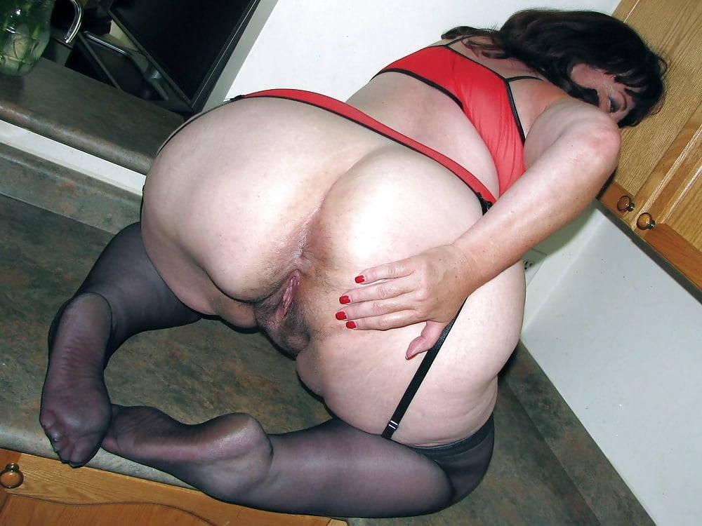 Mature pantie fetish